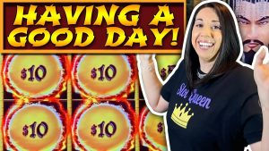 ☄️ BIG WINNING ON DRAGON LINK 🐉 SLOT QUEEN HAS A GOOD DAY ‼️