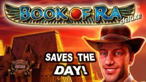 ENORME WINST op Book of Ra Slot - £ 4 weddenschap!