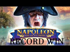 RECORD WIN!! Napoleon BIG WIN from Blueprint – Our biggest win ever on this