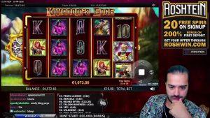 Online kasino stream ROSHTEIN online Velká výhra a výherní automat ROSHTEIN LIVE