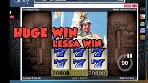 BIG WIN!!! IVANHOE Bonus round from LIVE STREAM (Casino Games) HUGE WIN