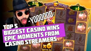 TOP 5 BIGGEST CASINO WINS | EPIC MOMENTS FROM CASINO STREAMERS