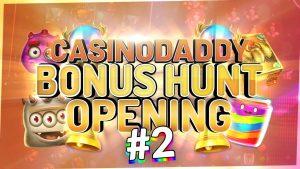 €5000 Bonushunt –  Casino Bonus opening from Casinodaddy LIVE Stream #2