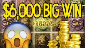 $6000 CASINO BIG WIN – Online Casino Record Big Win on Gonzo's Quest Total €5600