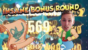 BIG WIN!!!! The Wish Master – Casino Games – bonus round (Casino Slots) Huge Win