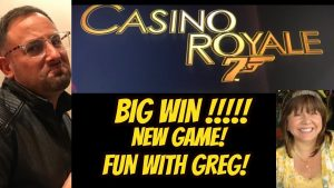 BIG WIN! CASINO ROYALE WITH GREG OVER NYE!