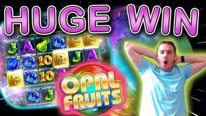 HUGE WIN on Opal Fruits Slot – £5 Bet