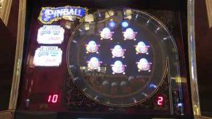 $5 Pinball Slot Machine-Big Win at the end-4 bonuses!