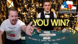 INSANE Ultimate Texas Hold'em Big Win Streak