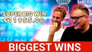 VÝHRADNÍ STROJ VYHRAJÍ # 10 DASKELELELE REACTOONZ 12000 XNUMX € SUPER BIG WIN