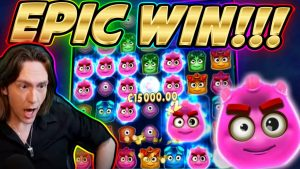 RECORD WIN!!! REACTOONZ BIG WIN – HUGE FAIL from CasinoDaddy Live Stream