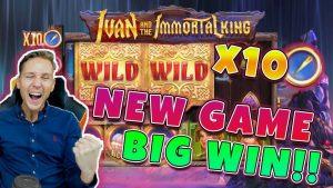 이반 불사의 왕 큰 승리 - Quickspin의 새로운 게임 - 무료 회전 (온라인 카지노)