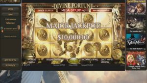 BIG WIN – Divine Fortune – Bet size: 100$ (NetEnt) (Playfortuna casino)