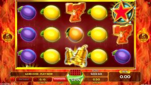 Slot Burning Flame - 25 spins - Big win!