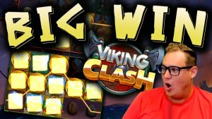 BIG WIN on Viking Clash! (€10 bet)