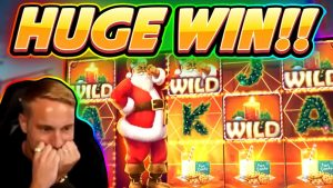 Ante gets a HUGE WIN!!!! Secrets of Christmas BIG WIN – Slot from Netent played by Casinodaddy