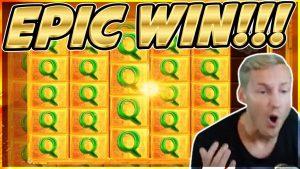 EPIC WIN! Legacy of Ra Big win – HUGE WIN on Casino slot from Casinodaddy LIVE Stream