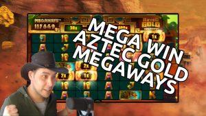 Aztec Gold Megaways mega win – Max Megaways feature