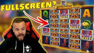 HUGE WIN on RELEASE THE KRAKEN! BIG WIN on BRAND NEW Online Slot!