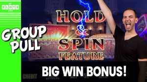 🐋 Big. Win. BONUS 💰 Group Pull @ The D Las Vegas ✪ BCSlots