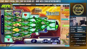 BONUS – Zeus 3 BIG WIN 3 euro bet Casino Huge Win