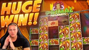 HUGE WIN!!! Primal Megaways BIG WIN!! Basegame hit from CasinoDaddy Live Stream