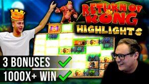 Three HUGE WINS on MAX Megaways – Return of Kong Megaways
