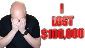 $100,000 GONE! 😢My Biggest Loss in 10 Minutes 😢| (FREAKOUT)