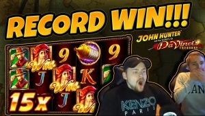 QEYD EDİN! Da Vincis Treasure BIG WIN (RETRIGGER) - Casino Oyununda Casinodaddy BÜYÜK WIN