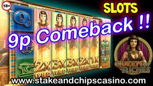 9p - BIG WIN !! - ROSH QUEEN - CASINO BONUS ROUND WIN !!
