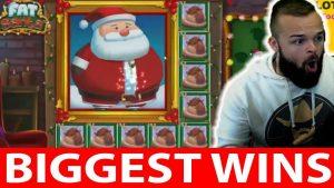 Casino big win #22 CLASSY BEEF IS SHOKED INSANE BIG WIN FAT SANTA