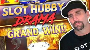 😱 SLOT HUBBY CAN'T BE TRUSTED 🤯 HE GETS A BIG WIN AND BOLTS 💰