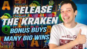 Best of RELEASE THE KRAKEN BIG WINS from Bonus Buys!