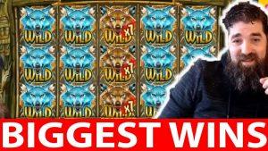BIGGEST CASINO WINS #8 COY WOLF WILD WIN SPINTWIX
