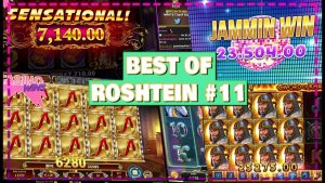 Super grandes vitórias | Melhor de Roshtein # 11 | O casino ganha LIVE