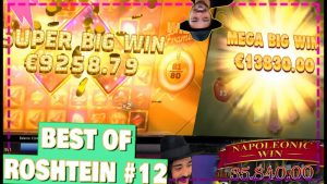 Honey Rush & Wild Frames MEGA BIG WIN same TIME | Best of Roshtein #12