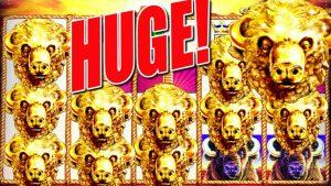 ★ CÂȘTIGĂTOR MAI BET BET ★ numărați acei capi de aur de bivoli! | Slot Traveller