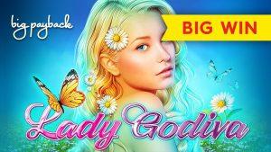 Lady Godiva Slot – BIG WIN BONUS!