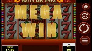 MEGA WIN / Bells On Fire #Casino #Forzza