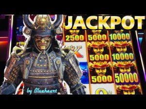 JACKPOT BESAR !! MENCOBA MENANG MENAKJUBKAN PERTAMA | LIAR LIAR SAMURAI mesin slot HANDPAY!