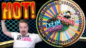 Winning BIG on Dream Catcher AND Monopoly Live!