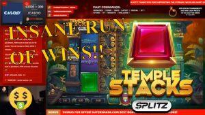 Ġirja fuq INSANE Temple Stacks SPLITZ !! ENERGIJA TIRbaħ