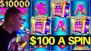 $ 100 A Spin High Limit PIGGY BANKIN Slot Machine Lock It Link HANDPAY JACKPOTS - Jogo de slot ao vivo