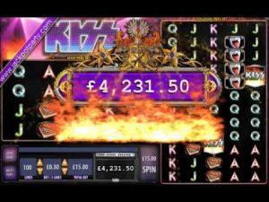 £4815.34 MEGA BIG WIN KISS® SHOUT IT OUT LOUD! ONLINE SLOT AT JACKPOT PARTY® CASINO