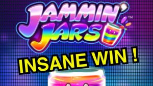 INSANE WIN !! (( JAMMIN JARS )) CASINO SLOTS BIG WIN