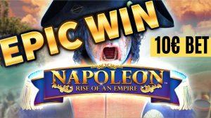 MEGA WIN!!! Napoleon BIG WIN – SICK WIN on Casino Game