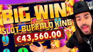 ROSHTEIN – EPIC MOMENTS | BIG WIN IN GAME SLOTS | HUGE WIN IN SLOT BUFFALO KING