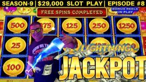 High Limit Lighting Link Slot Machine HANDPAY JACKPOT   Season 9   Episode #8
