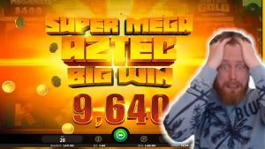 Biggest casino win #22 David Labowsky CRAZY Aztec Gold SUPER MEGA BIG WIN