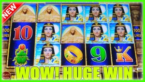 GREATEST COMEBACK DOWN TO LAST SPINS! HUGE WIN DOLLAR STORM  EGYPTIAN JEWELS